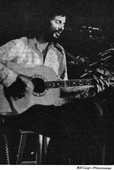 "Cat Stevens, 1974: The ""Peace Train"" star played Jadwin Gym's first concert. (Photo: Bill Casp '76)"