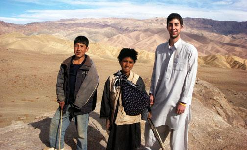 Duncan Fitz '08, right: Bamiyan Province, Afghanistan, 2008