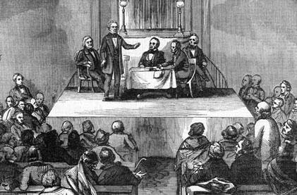 Meeting of the American Colonization Society in Washington, D.C.