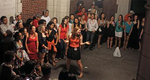 Tigerlilies, Reunions arch sing