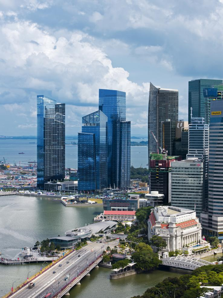 Marina Bay Financial Centre, Singapore. (Photo: Michael Weber)