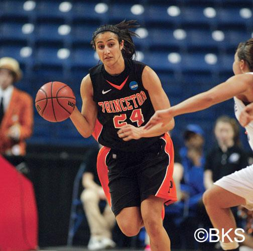 Ivy League Player of the Year Niveen Rasheed '13 scored 20 points, but that was not enough to beat Kansas State in the first round of the NCAA tournament.