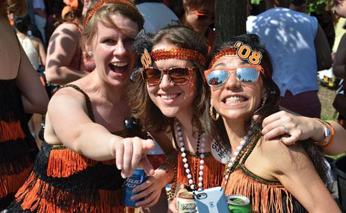 HAPPY FLAPPERS — submitted by Peter Dutton '91 s'94