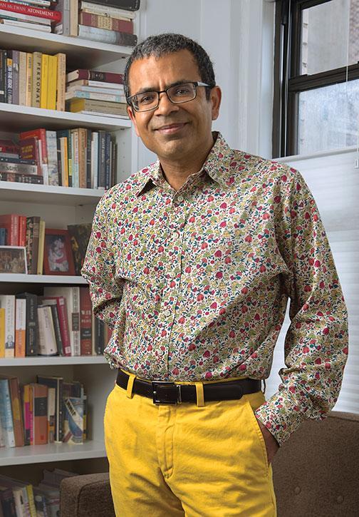 Sharma at home