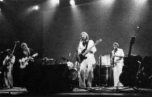"Average White Band, 1977: The Scottish funk and R-and-B act played for a ""jubilant mass of dancing bodies,"" according to one Prince reviewer. (Photo: Hugh S. Miller '79)"