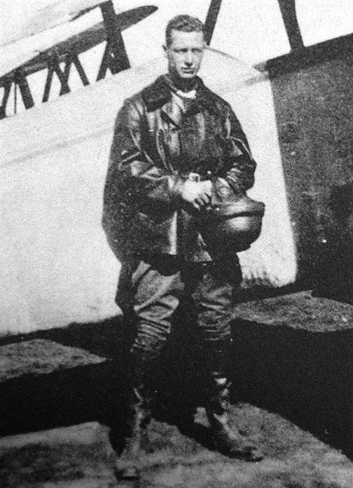 Hobey in WWI: In the air