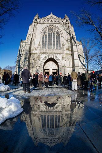 Chapel on Alumni Day: Winter remembrance