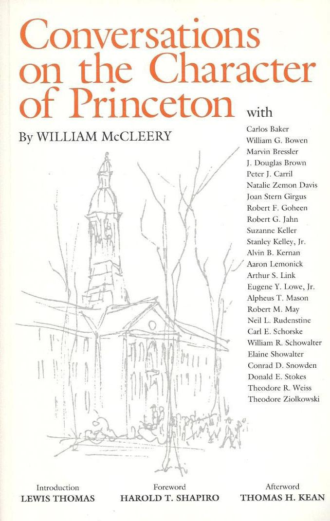Conversations on the Character of Princeton, 1990: Pointillist