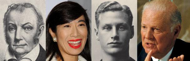 More Princetonians who readers felt deserved to be on the top 25 list: Aaron Burr 1771, Andrea Jung '79, Hobey Baker '14 and James A Baker III '52.
