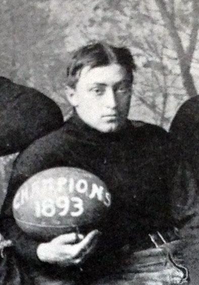 The 1893 captain, Thomas Trenchard 1895.