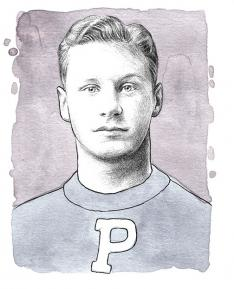 Hobey Baker 1914, a native of Philadelphia's Main Line, represented Princeton's gallant, gentlemanly heritage.