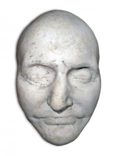 "This mask of Aaron Burr Jr. was among more than 60 death masks given to Princeton by literary critic Lawrence Hutton, who was a lecturer in English from 1901 until his death in 1904. An agent of the firm that created the mask said that ""in Burr, destruc"