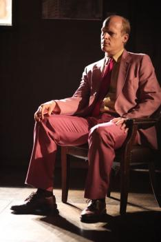 Jim Fletcher as Gatsby in the recent production of 'Gatz.'