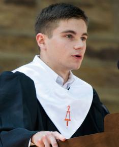 Salutatorian James Morrison '08
