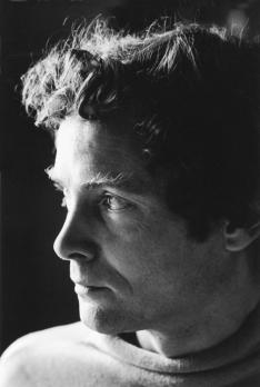 By the time this photo was taken in 1960, Merwin's poems had become introspective and personal; they soon would become more political.