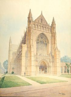 Designing the Chapel: Outside the plan