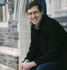 Joshua Haecker '13, believed to be  the only U.S. veteran currently enrolled as a Princeton undergraduate.
