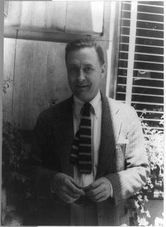F. Scott Fitzgerald '17 in 1937.