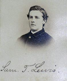 Samuel Trust Lewis 1866: Well known... in Wyoming